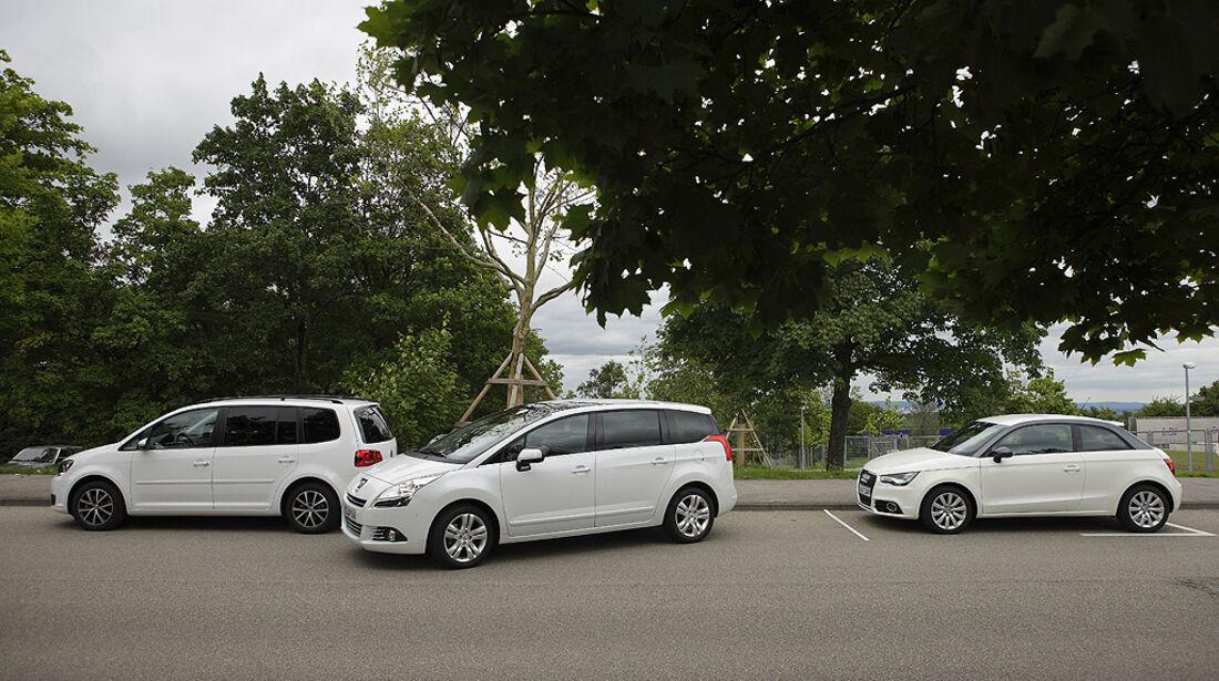 Einparktest, Peugeot 5008