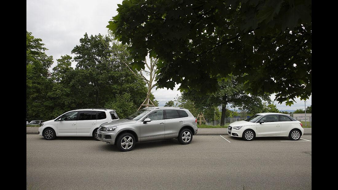 Einparktest, VW Touareg