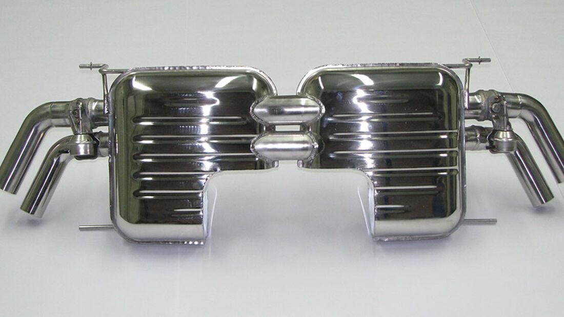 Eisenmann Audi R8 Abgasanlage