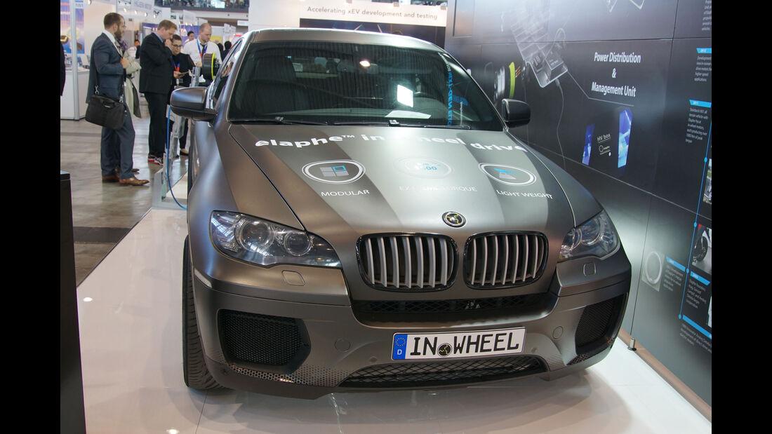Elaphe In-Wheel Motors - BMW X6 - Electric Vehicle Symposium 2017 - Stuttgart - Messe - EVS30