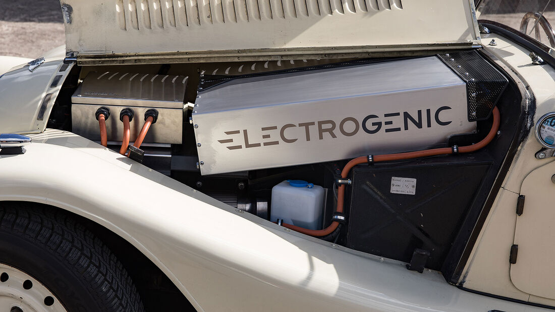 Electrogenic Oldtimer Elektroantrieb Umrüstung