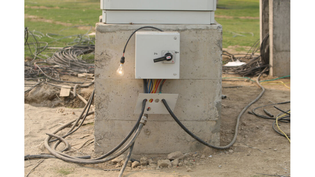 Elektro-Installation - GP Indien - Training - 28.10.2011
