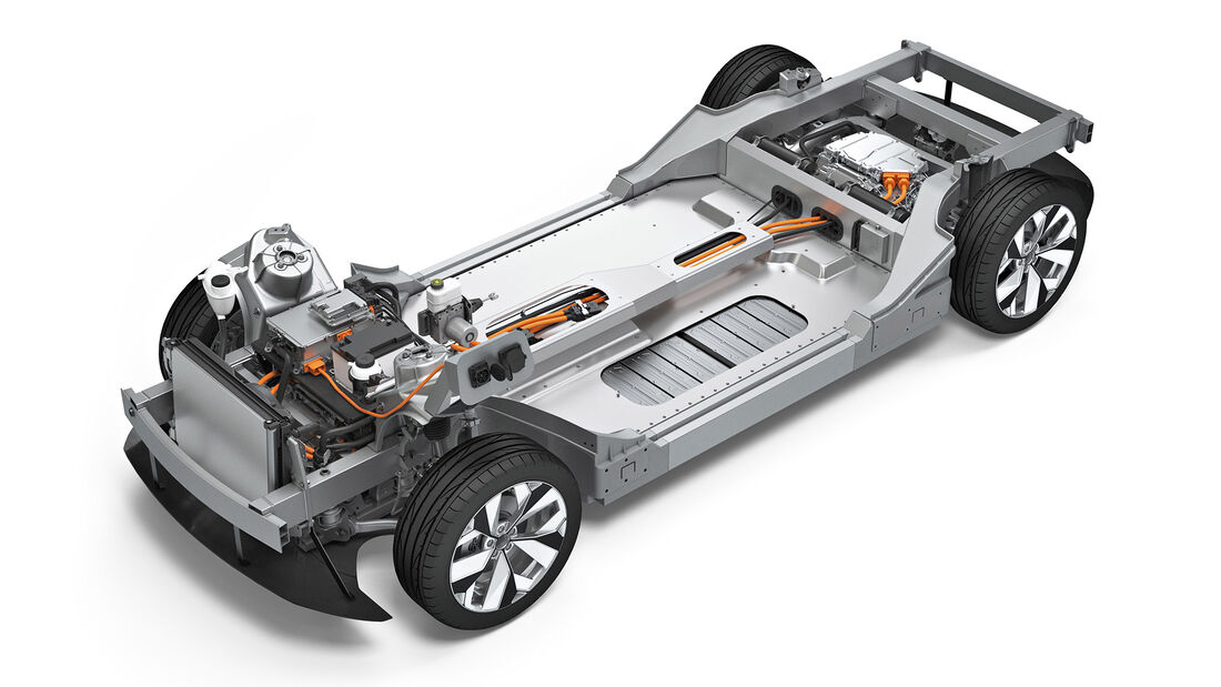 "Elektro-Plattform ""Rolling Chassis"""
