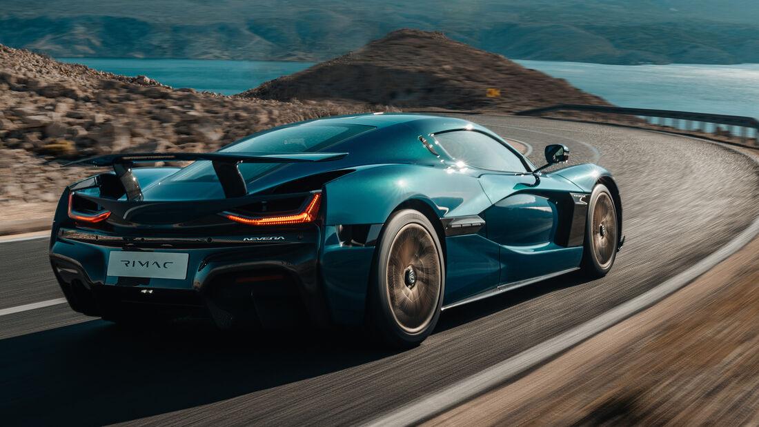 Elektro Supersportwagen Rimac Nevera Serienmodell 2021