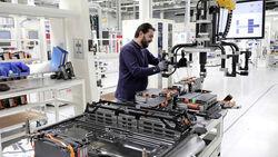 Elektroauto Batterie Produktion VW