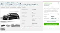 Elektroauto-Leasing Angebote Juni 2021