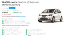 Elektroauto-Rabatte