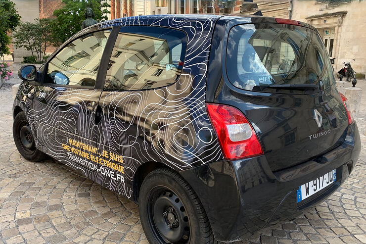 transition one elektroauto umbaukit f r euro auto motor und sport. Black Bedroom Furniture Sets. Home Design Ideas