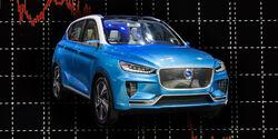 Elektroautos China Boom Markt Absatz Rückgang Einbruch