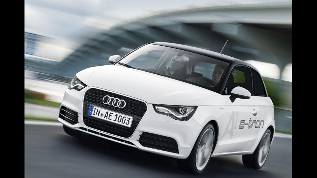Elektroautos Flottenprojekte, Audi A1 e-tron