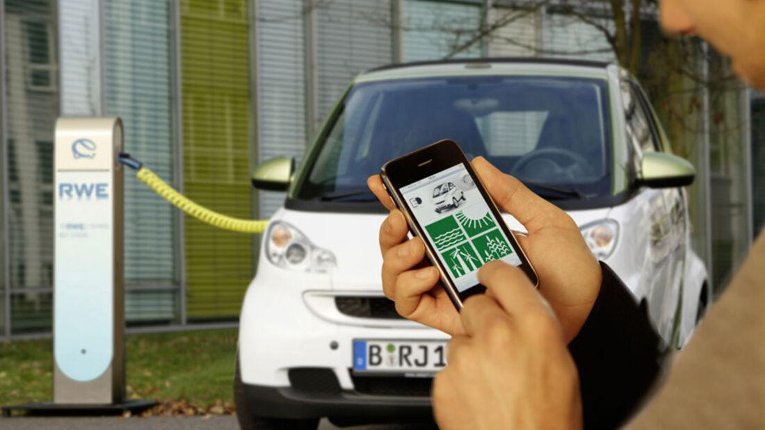Elektromobilität, Öko-Strom, Ladestation