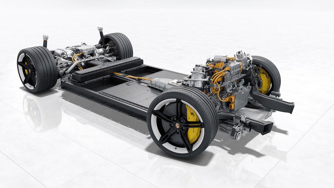 Elektromotor PSM Porsche Taycan