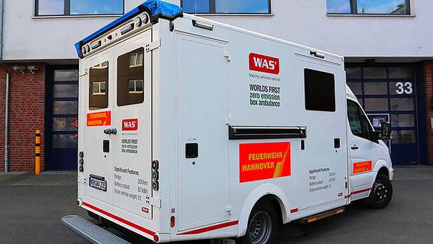 Elektrorettungswagen eRTW