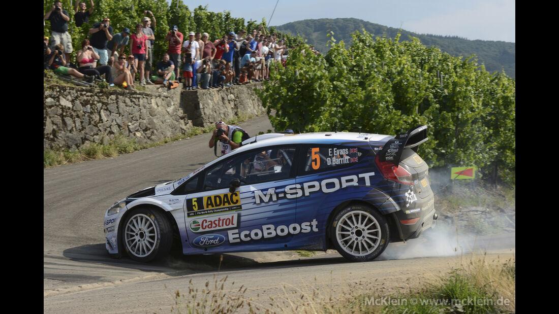 Elfyn Evans - Rallye Deutschland 2015
