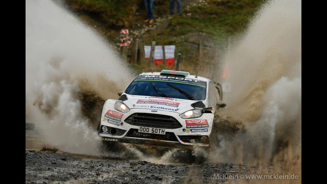Elfyn Evans - Rallye GB 2015