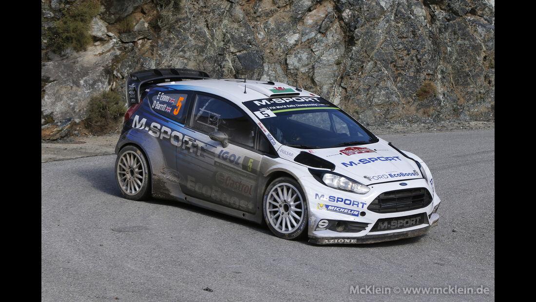 Elfyn Evans - WRC - Rallye Frankreich - Tour de Corse - Korsika - 2015