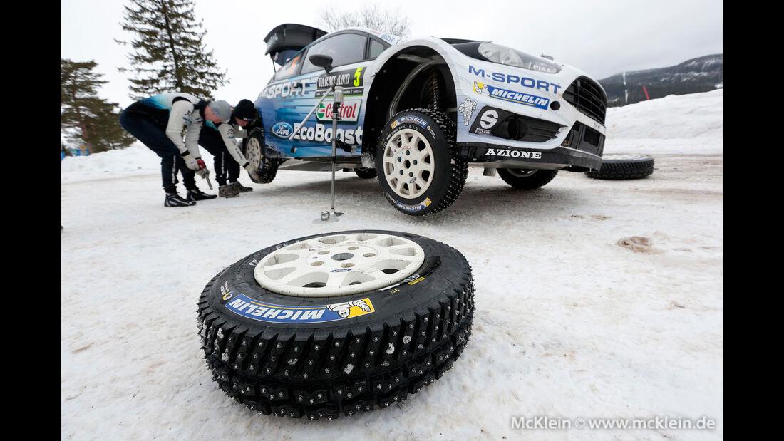 Elfyn Evans - WRC - Rallye Schweden 2015