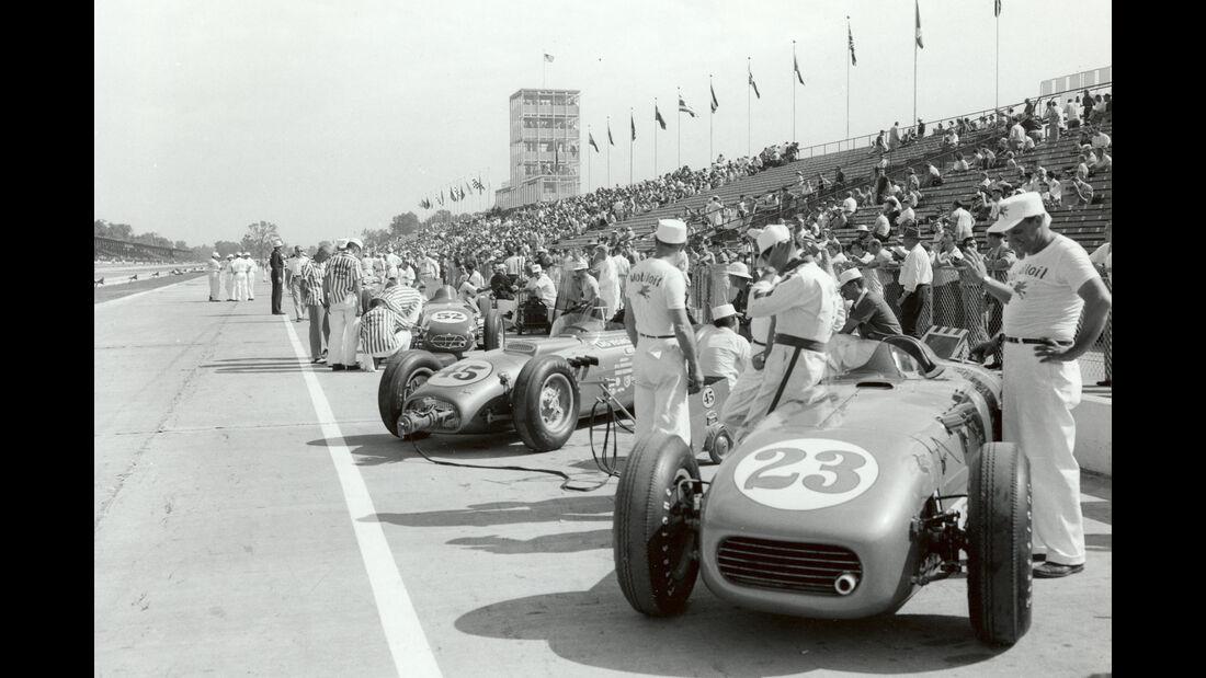 Elmer George - Indy 500 - 1957 - Motorsport