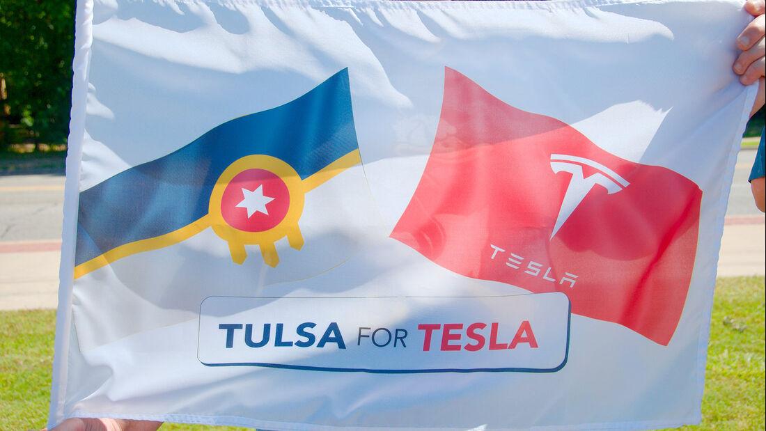 Elon Musk Statue in Tulsa/Oklahoma