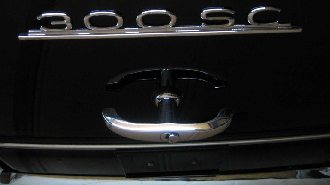 Emblem Mercedes 300 SC 3D Druck