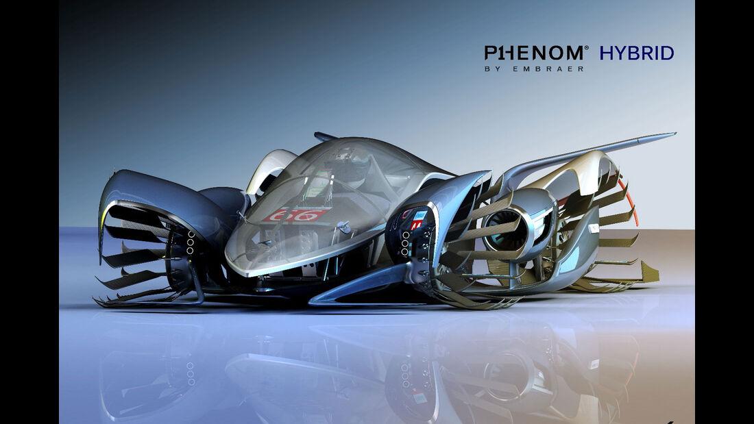 Embraer P1 Phenom Hybrid - Le Mans 2030 - Michelin Challenge Design - Motorsport