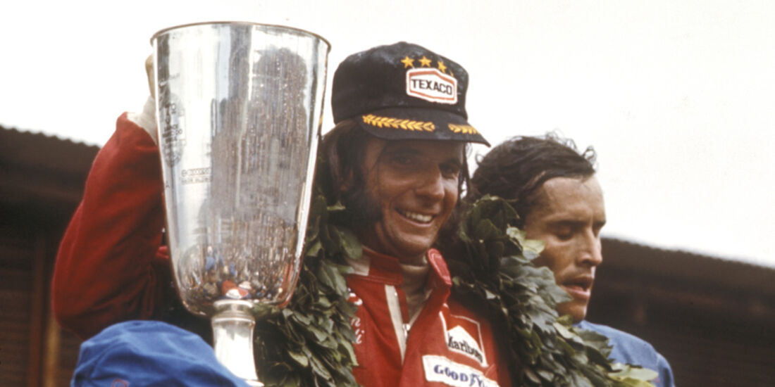 Emerson Fittipaldi 1974 McLaren