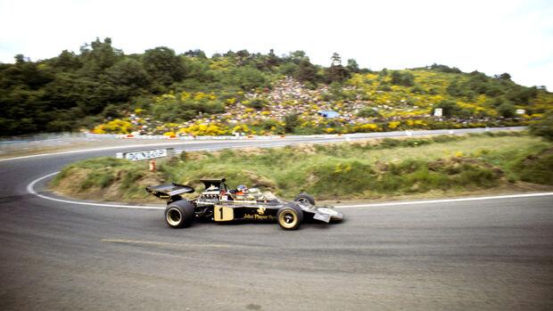 Emerson Fittipaldi - GP Frankreuch 1972 - Clermont Ferrand
