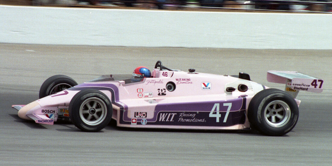 Emerson Fittipaldi - Indycar - 1984