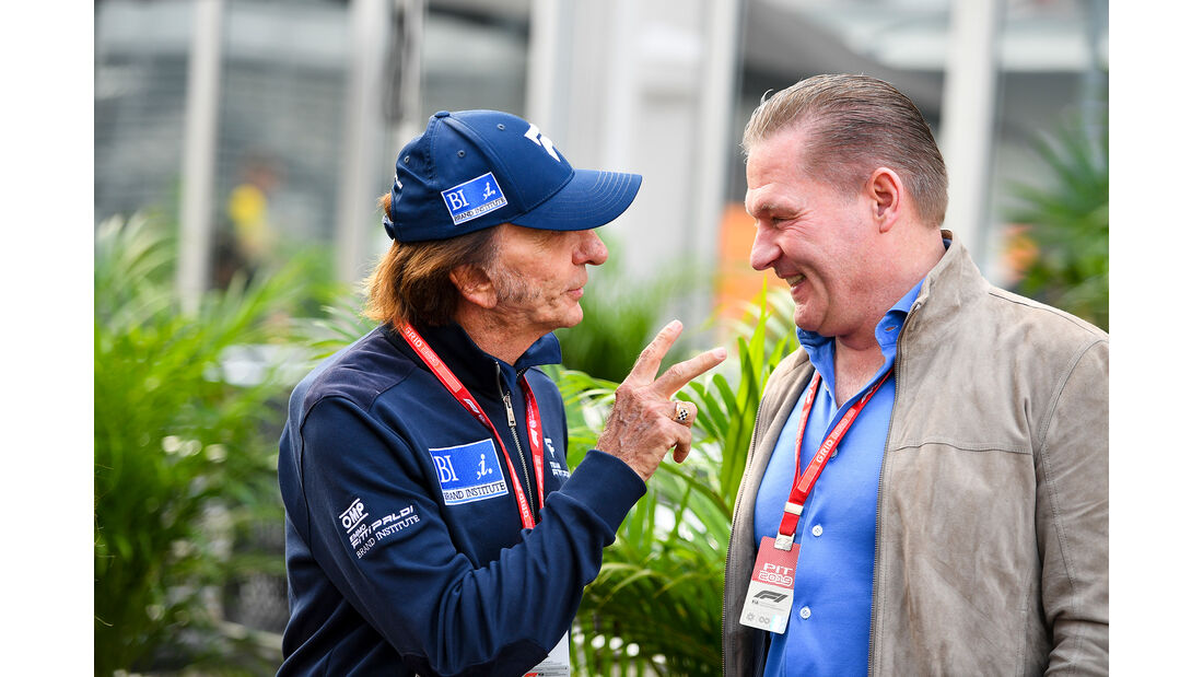 Emerson Fittipaldi & Jos Verstappen - Formel 1 - GP Mexiko - 25. Oktober 2019