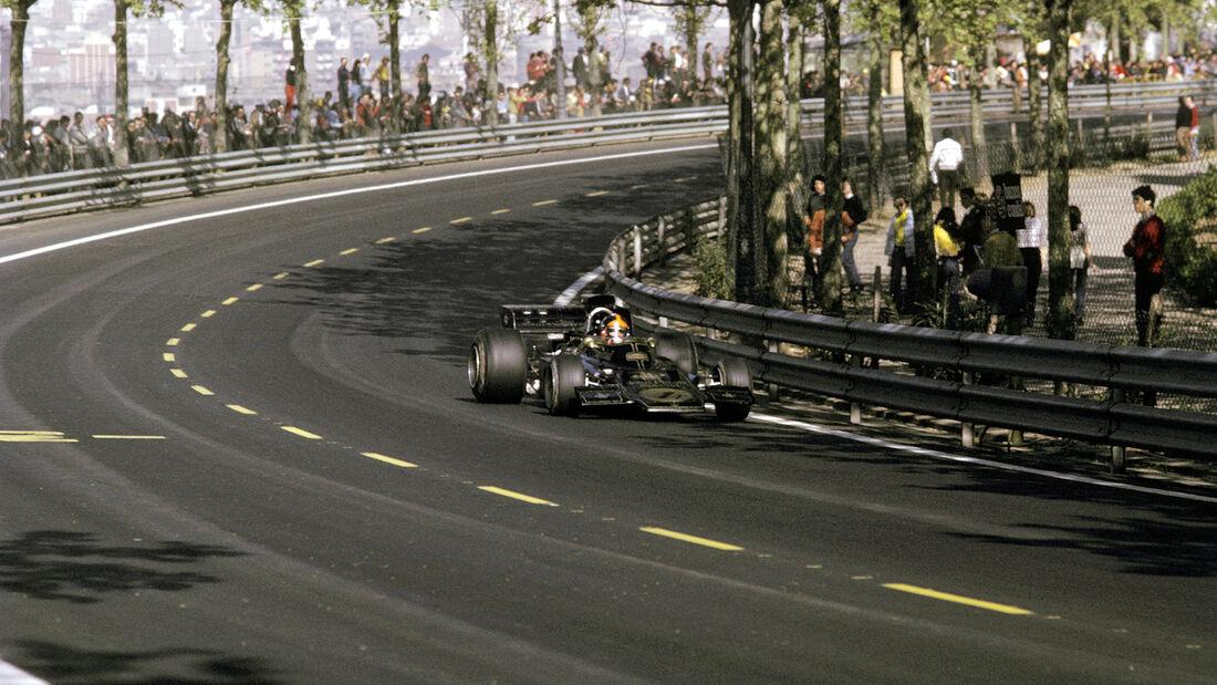 Emerson Fittipaldi - Lotus 72D - GP Spanien 1973 - Montjuich Park