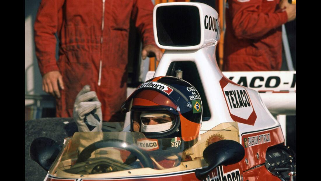 Emerson Fittipaldi McLaren M23 Ford 1974