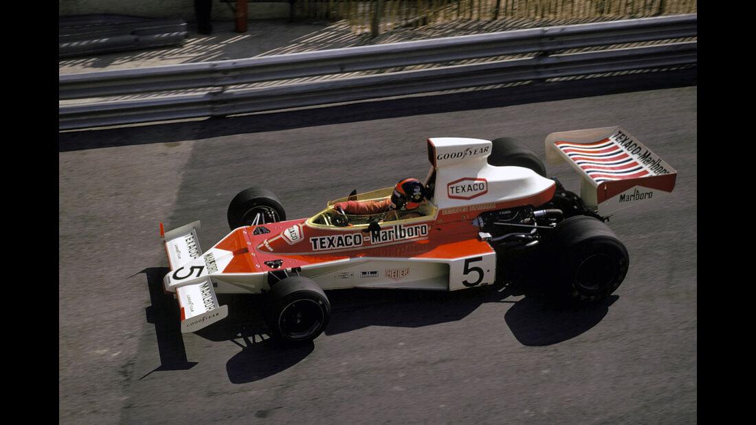 Emerson Fittipaldi - McLaren M23 GP Monaco 1974