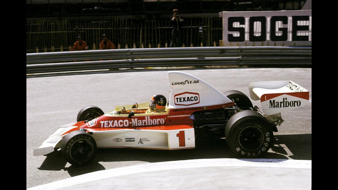 Emerson Fittipaldi - McLaren M23 - GP Monaco 1975