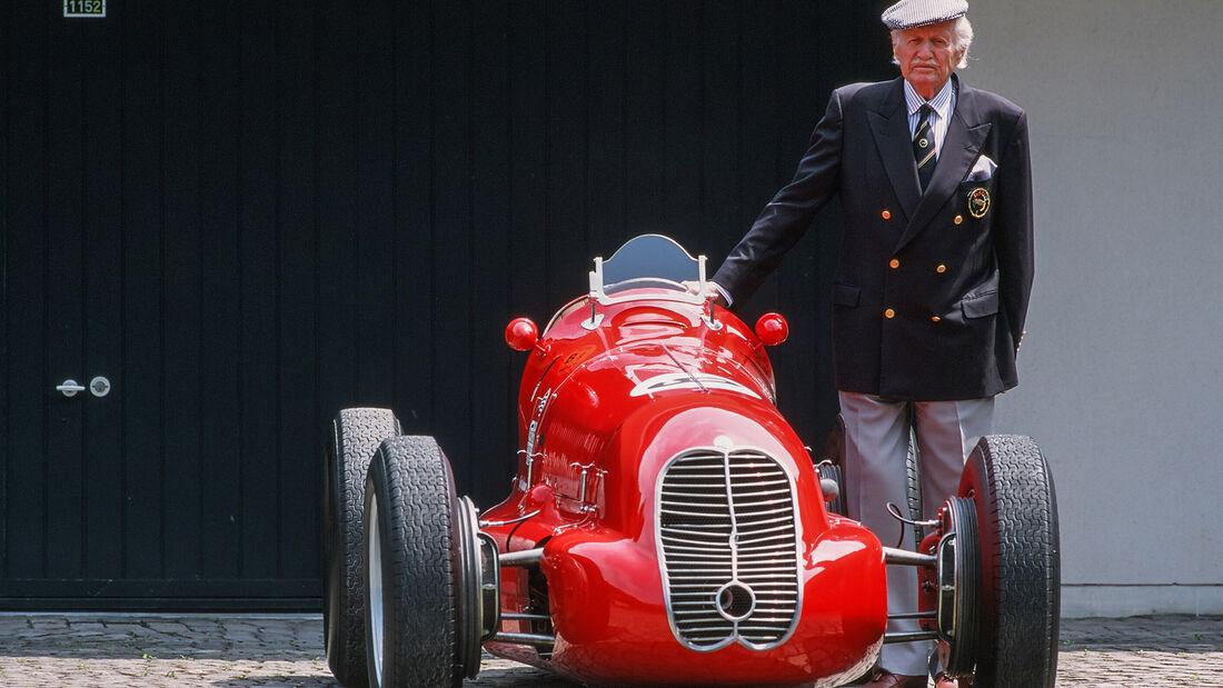 Emmanuel de Graffenried - Maserati 4CLT/48 - Formel 1