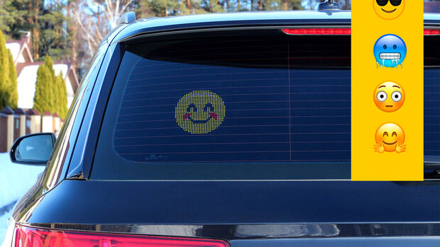 Emoji Car Display