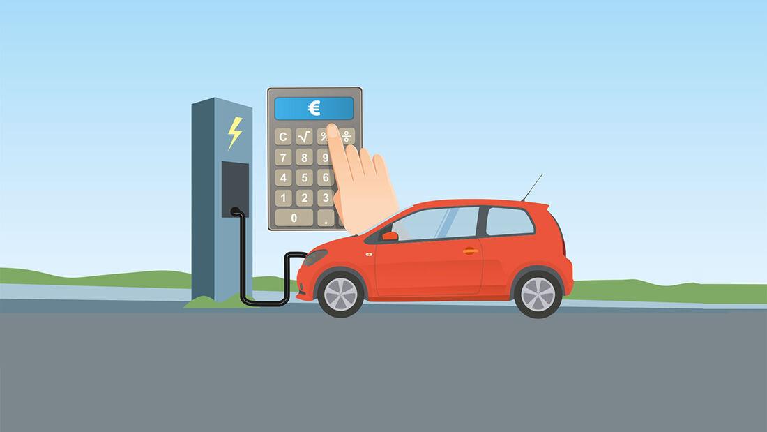 EnBW Elektromobilität, Ladekosten