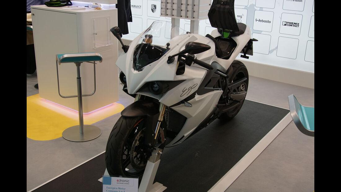 Energica Motor EGO - Motorrad - Electric Vehicle Symposium 2017 - Stuttgart - Messe - EVS30