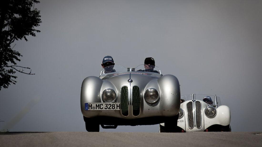 Ennstal Classic 2013, Marcus-Görig-Geschichte, BMW 328 MM