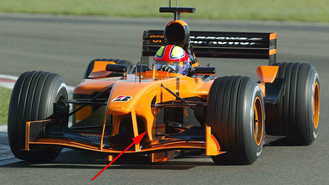 Enrique Bernoldi - Arrows A23 - Test Silverstone 2002