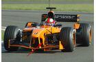 Enrique Bernoldi - Arrows A23 - Test Silverstone - 2002
