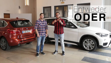 Entweder ODER BMW X1 2er Active Tourer Vergleich Aufmacher