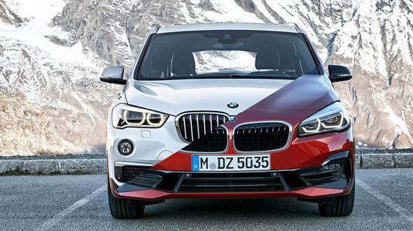 Entweder ODER BMW X1 2er Active Tourer Vergleich
