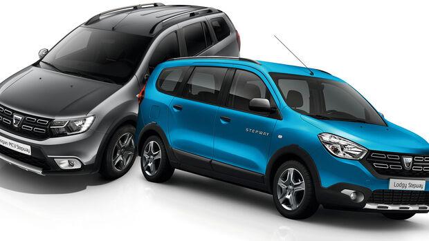 Entweder ODER Dacia Lodgy Logan MCV Stepway Vergleich