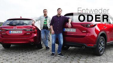 Entweder ODER Mazda 6 CX-5 Vergleich