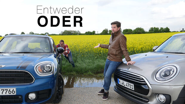 Entweder ODER Mini Clubman Countryman Vergleich