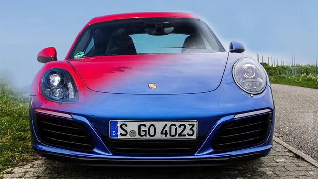 Entweder ODER Porsche 911 Cayman 718 GTS Vergleich