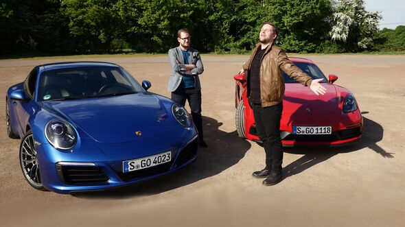 Entweder ODER Porsche 911 Cayman GTS 718 Vergleich