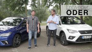 Entweder ODER Seat Arona Ibiza Vergleich
