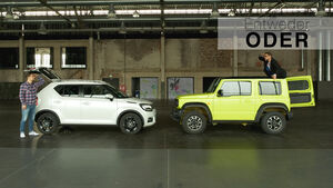 Entweder ODER Suzuki Jimny Ignis Vergleich Review Youtube