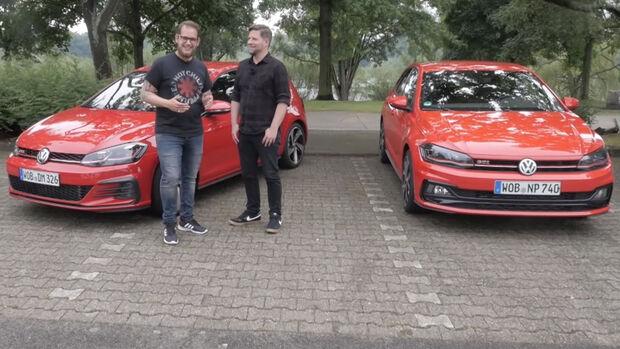 Entweder ODER VW Golf GTI Polo GTI Vergleich